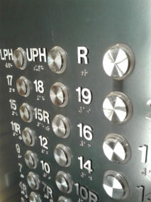 Stainless Steel numbers with pins